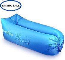 EooCoo Portable Inflatable Sofa,Outdoor Air Sofa