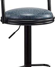 Eortzxk Simple Barstools, Adjustable Salon Stool