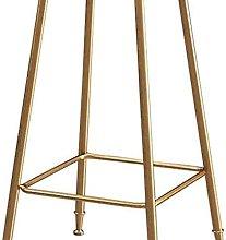 Eortzxk Simple Barstools, Bar stool round Fabric