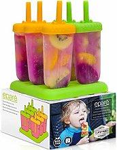 Eparé Popsicle Molds - Homemade Ice Pop Maker -