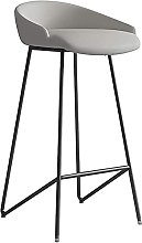 EPYFFJH Bar Stool with High Back, Bar Chair Modern