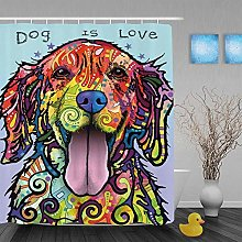 EQKWJ Lovely Pet Dog Shower Curtains Collection