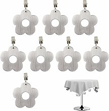 EQLEF Tablecloth Weights, Stainless Steel