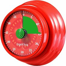 EqoVivo Kitchen Timer Novelty Gadget, with Magnet,