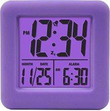 Equity by La Crosse 70904 Soft Purple Cube LCD