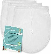 Era Natural Nut Milk Bag Reusable 3 Pack 12' x