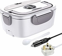 ErayLife Electrical Lunch Heating Box, 2 in 1 Meal