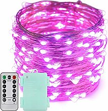 Erchen Battery Operated LED Fairy Lights, 66 FT