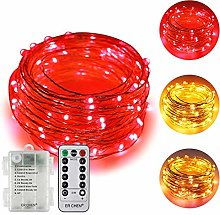 ErChen Battery Powered Dual-Color Led String