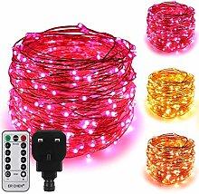 ErChen Dual-Color LED String Lights, 100 FT 300