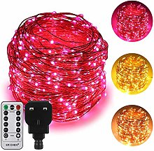 ErChen Dual-Color LED String Lights, 165 FT 500