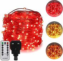 ErChen Dual-Color LED String Lights, 66 FT 200