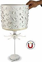 Ereki Butterflies Bedside Table Desk Lamp for