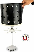 Ereki Stars Bedside Table Desk Lamp for Beautiful