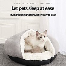 EREW Pet Bed, Dog Bedding Pet Tent Cave Bed with