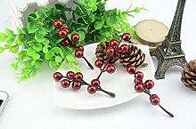 ERFHJ Decoration Simulation Pomegranate 15pcs mini