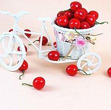 ERFHJ House Kitchen Fake Cherries Little Red