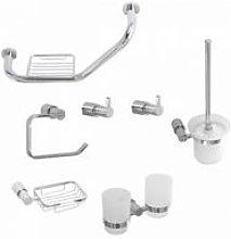 Ergonomic Designs - Round Chrome Bathroom