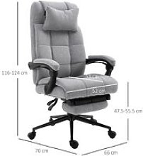 Ergonomic Office Chair Adjustable Height w/Wheels