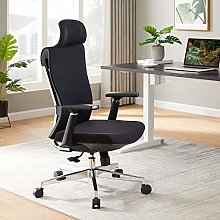 Ergonomic Office Chair, Desk Chair with Metal