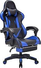 Ergonomic Racing Gaming Chair,Swivel PU Leather