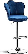 Ergonomics Soft Seat Bar Chairs with Backrest