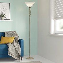 Ericka 180cm Uplighter Floor Lamp Zipcode Design