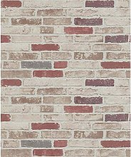 Erismann - Brick - Wallpaper - Red - Paste the