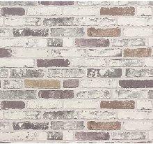 ERISMANN Grey, New Luxury BRIX Brick Wall Effect
