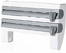 Erlove 4-in-1 Wall-Mounted Paper Towel Holder