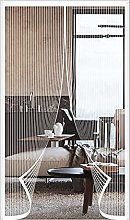 ERPENG Door Curtain Mesh Curtain 120x245cm Keep