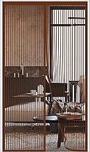 ERPENG Door Curtain Mesh Curtain 130x260cm Keep