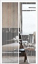 ERPENG Door Curtain Mesh Curtain 140x210cm Keep