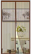 ERPENG Door Curtain Mesh Curtain 140x235cm Keep