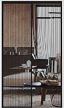 ERPENG Door Curtain Mesh Curtain 180x250cm Keep