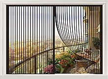 ERPENG Fly Window Screen Mesh 85x130cm Keep Bugs