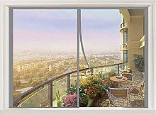 ERPENG Magnetic Fly Screen Door Window 100x130cm