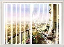 ERPENG Magnetic Fly Screen Door Window 130x140cm