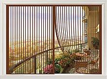 ERPENG Magnetic Window Screen 110x145cm Keep Bugs