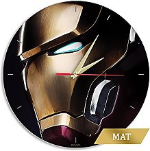 ERT - Iron Man Marvel® Gold Matt Finish Wall Clock