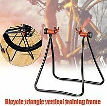 ERTYUI Bike Cycle Stand, Foldable Bicycle Station