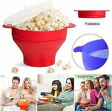 ERTYUI Popcorn Maker, Microwave Silicone Popcorn