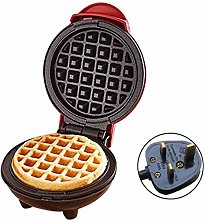 ERTYW 350W Mini Portable Electric Round Griddle