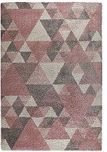 eRugs Modern Dakari Nuru Lounge Shaggy Geometric