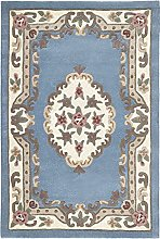 eRugs Small Traditional Classic Aubusson Floral