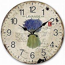 Eruner Attractive Bedroom Wall Clock, Antique