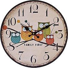 Eruner Children's Room Wall Clock, 12-Inch