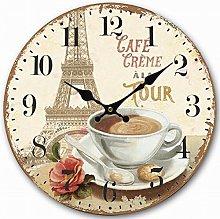 Eruner French Vintage Clock for Kitchen Wall,