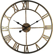Eruner Lovely Large Round Kitchen Wall Clock,