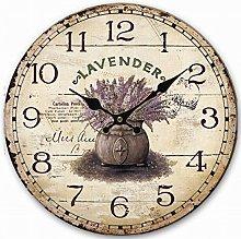 Eruner Shabby Chic Living Room Wall Clock,